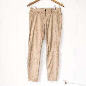 Guess faux suede skinny pants size 28
